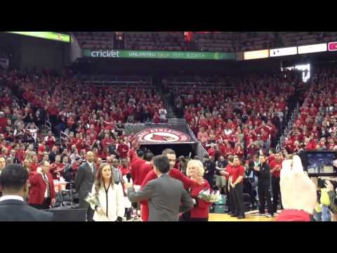 Louisville Men's Basketball Senior Ceremonies