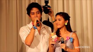 [Aomike] ice cream moment @ Meet&Greet with Aom Sushar [2014.04.20]