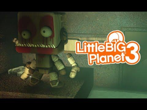 LittleBIGPlanet 3 - Mike's New Job! [FNAF Trailer Movie] -  Playstation 4