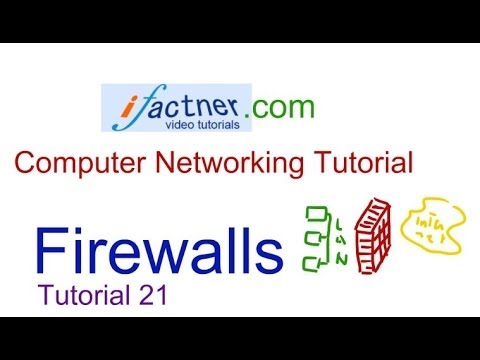 Firewalls and Network Security in Hindi Urdu, Computer Networking tutorial 21 lecture