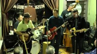 Boogie Real Low, with Paul Pigat, Tommy Harkenrider, and Kid Ramos.