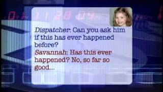 """Little girl calls 911 - Adorable - """"He can't hardly breathe"""""""