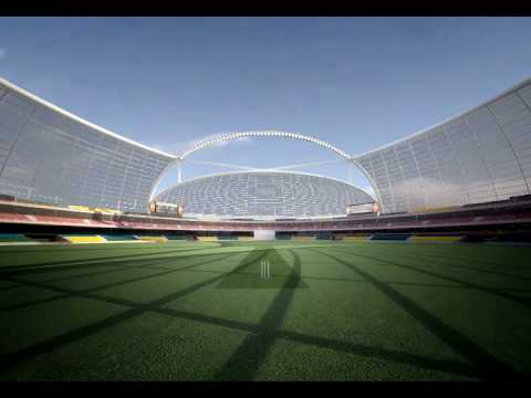 Bangalore cricket stadium Walkthrough HESTIA STUDIOS