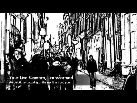 ToonCamera: Real-time Cartoon Effects