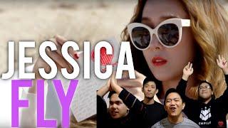 JESSICA (ft. Fabolous)    FLY MV Reaction [4LadsReact]