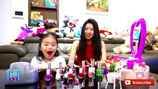 الاطفال يتظاهرون باللعب بأشكال مضحكة | أغاني أغاني الحضانة للأطفال | Ktrv Funny Video for Kids
