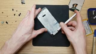 Huawei P10 Lite WAS-LX1 Full disassemble and clean to install new screen Part 2 of 2