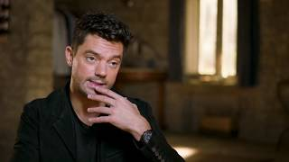 "MAMMA MIA! 2 Here We Go Again ""Sky"" Dominic Cooper On Set Interview"