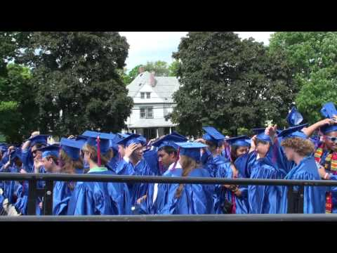 Brookline High School 2013 graduation
