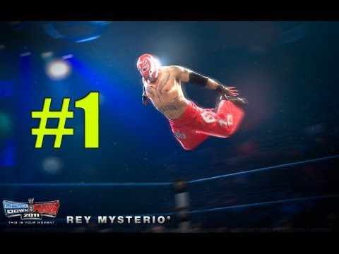 Wwe Smackdown Vs Raw 2011 Rey Mysterio Part 1 Road To Wrestlemania video