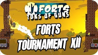 Forts Tournament XII 2v2 Ranked Co-op Gameplay
