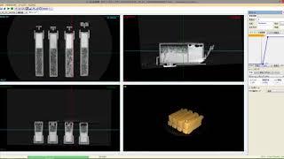 インクカートリッジ:ブツ切り動画
