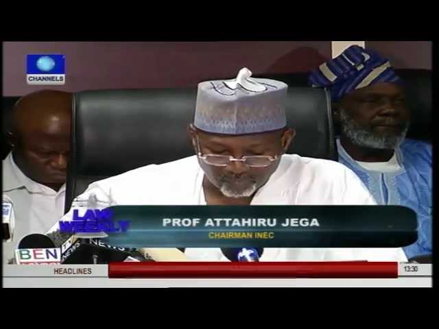 Law Weekly: Quaker (SAN) Speaks On Constitutionality Of Postponed Elections Pt.1