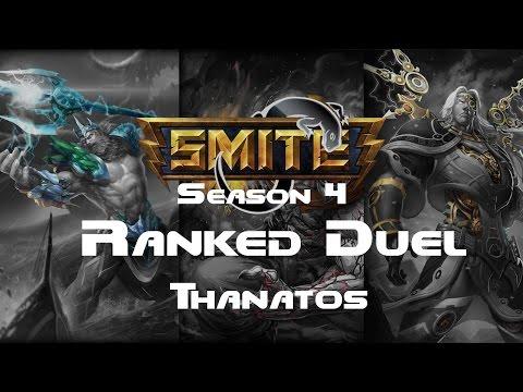 Smite - Ranked 1v1 Duel (Diamond 4) - Thanatos Season 4