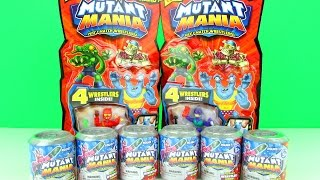 Mutant Mania Wrestlers Mystery Blind Packs Opening, Trash Pack Style Toys