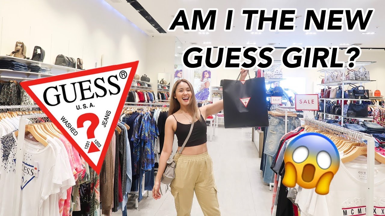 Am I the new Guess Girl?