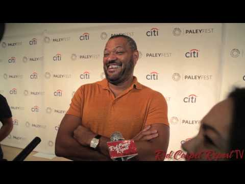 Laurence Fishburne at #PaleyFest Fall TV Preview for ABC's Black-ish #blackishABC