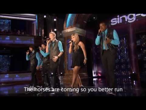 Pentatonix - Dog Days Are Over (LYRICS HD VIDEO)