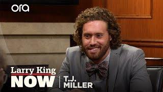 T.J. Miller addresses leaving