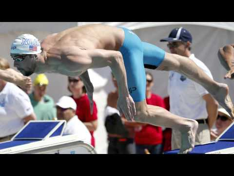 Michael Phelps Returns to Competition