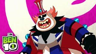Ben 10 | Cannonbolt vs Zombozo | Cartoon Network
