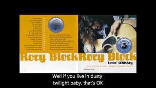 Watch Rory Block Lovin Whiskey video