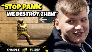 How to IGL by s1mple - CSGO FUNNY MOMENTS #5