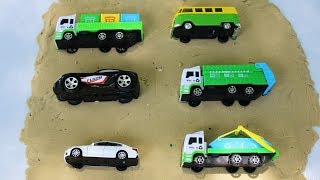 Learning Vehicles Names for Kids - Street Vehicles School Bus | Excavator | Dump truck | Car toys