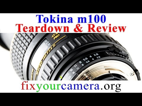 Tokina 100mm f2.8 macro lens Teardown & Review - Very Good. but not greasy enough :) Nikon mount
