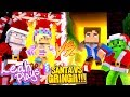 Minecraft LEAH PLAYS  PORTAL TO THE SANTA LIFE VS PORTAL TO THE GRINCH LIFE!!! -