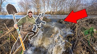 I BLEW UP the MASSIVE BEAVER DAM!!! (EPIC)