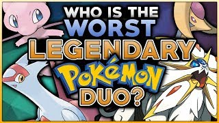 Which Is The WORST Legendary Pokemon Duo?