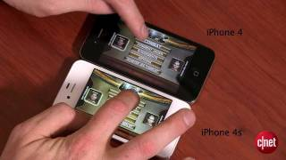 iPhone 4S contre le Galaxy S2 et iPhone 4