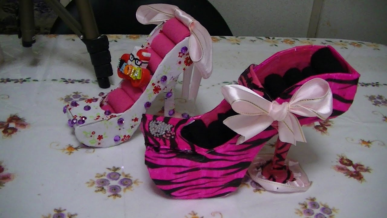 Como Hacer Un Zapato De Fomi
