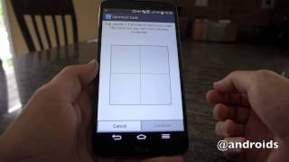 LG G Pro 2: setting up and using Knock Code