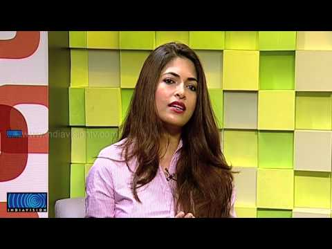 Parvathy Omanakuttan in Indiavision Good Morning Kerala part 1