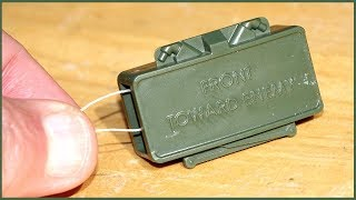EXPLODING Claymore Mine Toy - It's a real thing!