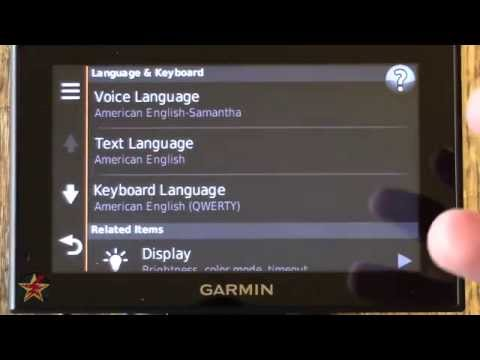 Garmin Nuvi 2599LMTHD pt.2 (User Interface)