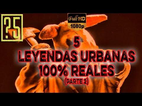 5 Leyendas Urbanas 100% Reales. Parte 2 [Videos De Terror Y Miedo 2015] HD 1080p