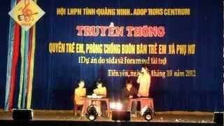 Kich phong chong xam hai tre em (Truong PTDT Noi tru TCHS va THPT Tien Yen Quang Ninh)