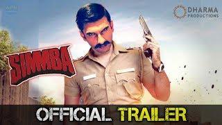 Simmba Official Trailer   Ranveer Singh   Sara Ali Khan   Sonu Sood   Rohit Shetty