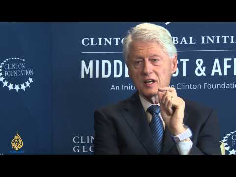 Talk to Al Jazeera - Bill Clinton: Middle East 'not all a bad news story'