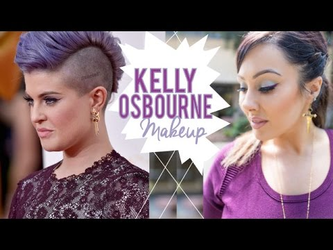 Kelly Osbourne Inspired Look - wearable blue makeup | Makeup Geek