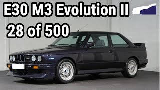 BMW E30 M3 Evolution II Restoration (28/500)