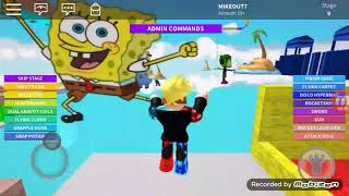 I ALWAYS DIE Escape Spongebob my screen is lagged This is not escape spongebob HARD OBBY Roblox HARD