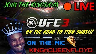 EA SPORTS UFC 3 DIVISION 5 RANKED CHAMPIONSHIPS ONLINE EP 29 REACHED 1K SUBSCRIBERS