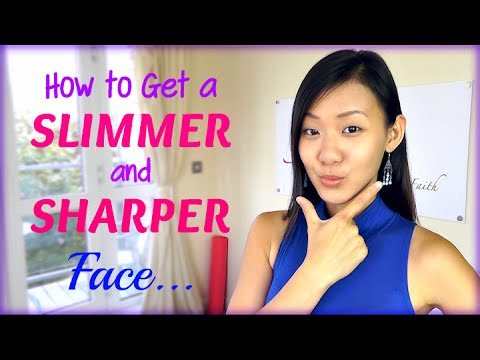 How to Get a Slimmer & Sharper Face (5 Simple Tips)