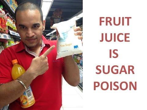 Fruit Juice Diet Makes You Fat