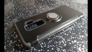Samsung Galaxy S9 PLUS Black Magnet Magic Ring Case