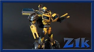 обзор Transformers Prime RiD Deluxe Class Shadow Strike Bumblebee
